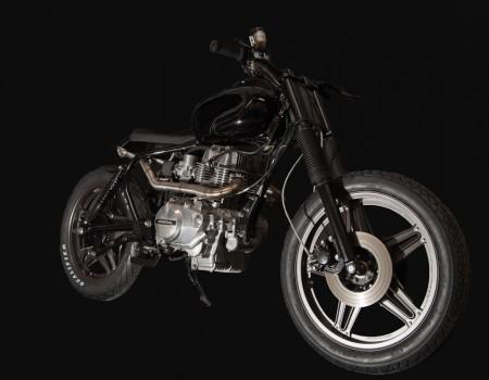 Honda CB400N – Black Skin