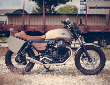 "Guzzi V7 – Hunter – Project for ""Lord of the Bikes"""